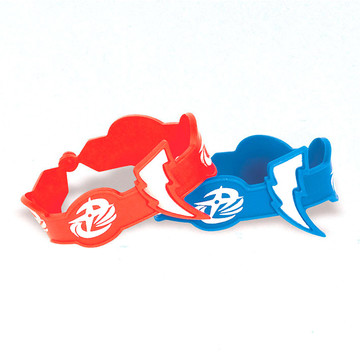 Power Rangers Dino Charge Rubber Bracelet Favors (4 Pack)