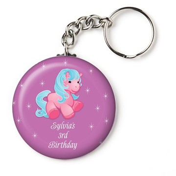 "Pretty Pony Personalized 2.25"" Key Chain (Each)"