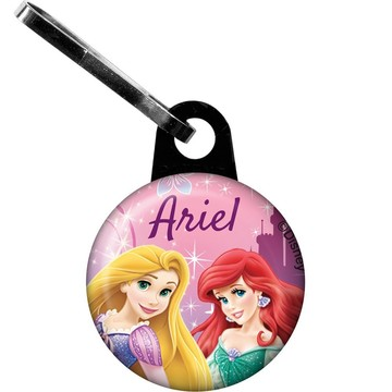 Princess Personalized Mini Zipper Pull (Each)
