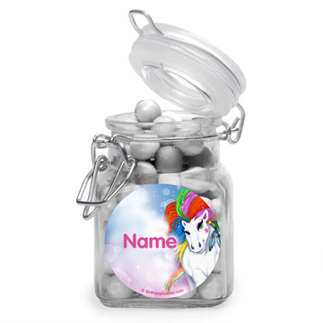 Regal Pony Personalized Glass Apothecary Jars (10 Count)