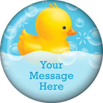 Rubber Duck Personalized Magnet (Each)