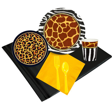Safari Animal Adventure Party Pack