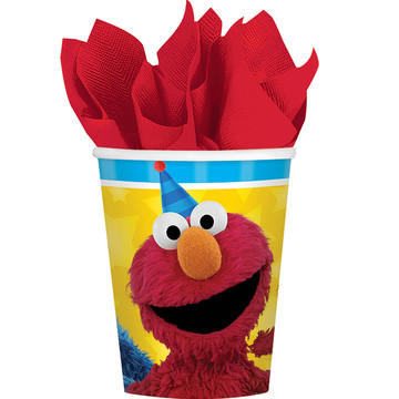 Sesame Street Paper 9oz Cups (8 Count)