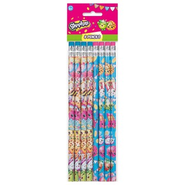 Shopkins Pencils (8 Count)