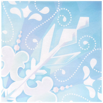 Snowflake Winter Wonderland Lunch Napkins (20)