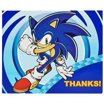 Sonic The Hedgehog Invitations Thank Yous Sonic The Hedgehog