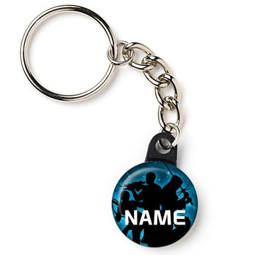 "Space Force Personalized 1"" Mini Key Chain (Each)"
