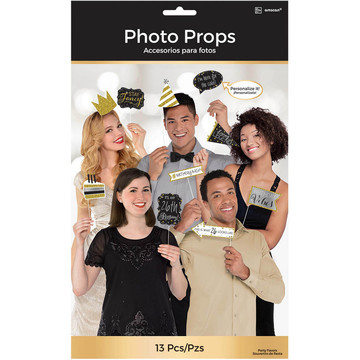 Sparkling Celebration Birthday Photo Booth Props (13)