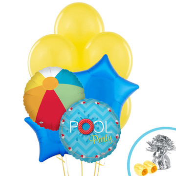 Splashin' Pool Party Balloon Bouquet