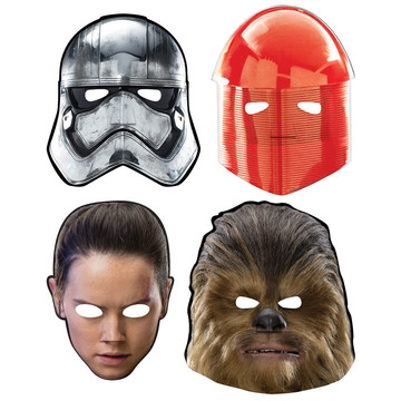 Star Wars Episode VIII Paper Masks (8)