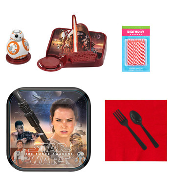Star Wars Tableware and Cake Topper Kit