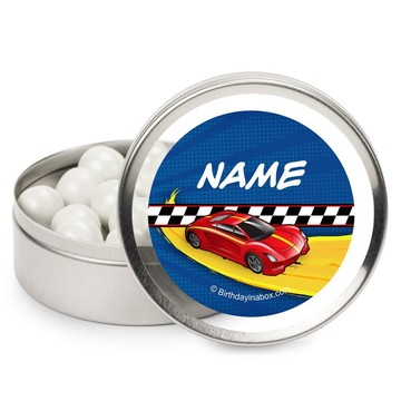 Super Charged Personalized Candy Tins (12 Pack)