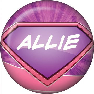 Supergirl Personalized Mini Button (Each)