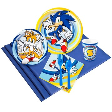 Sonic the Hedgehog 24 Guest Party Pack