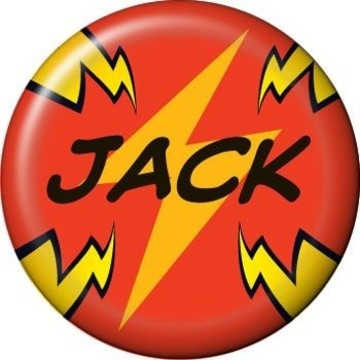 Superhero Party Personalized Mini Magnet (each)