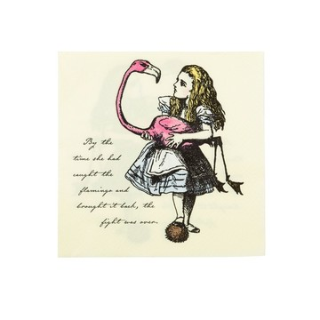 Talking Tables Truly Alice Lunch Napkin, 20ct
