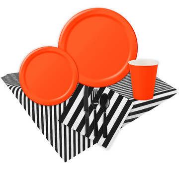 Tangerine Party Pack (For 16 Guests)
