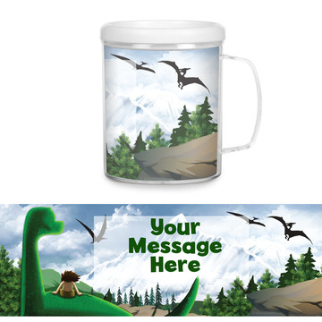 The Friendly Dinosaur Personalized Favor Mug (Each)