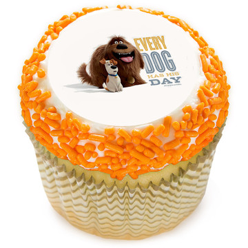 "The Secret Life of Pets 2"" Edible Cupcake Topper (12 Images)"