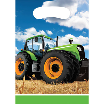 Tractor Time Loot Bags (8 Count)