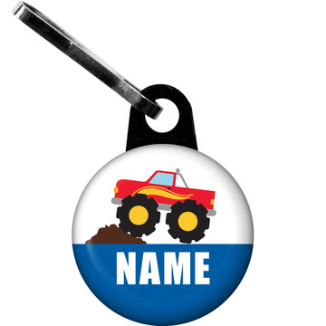 Traffic Jam Personalized Zipper Pull (Each)