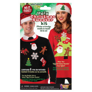 Ugly Sweater Kit (6 Pins)