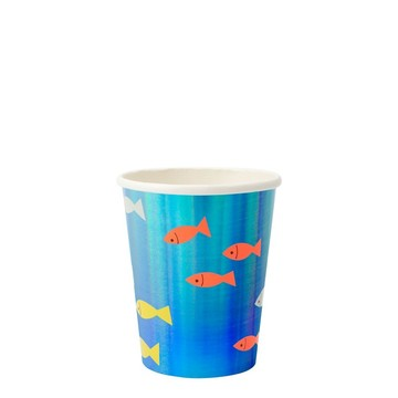 Under The Sea 9oz. Paper Cups, 8ct