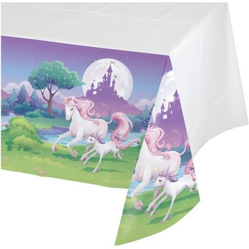 Unicorn Fantasy Plastic Table Cover (Each)