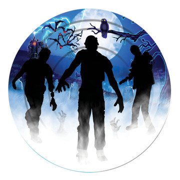 """Zombie Party 9"""" Plates (8)"""